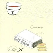 Luxury Holy Communion Greeting Card - Special Prayer
